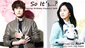 So Its... Kyuhyun Yuri