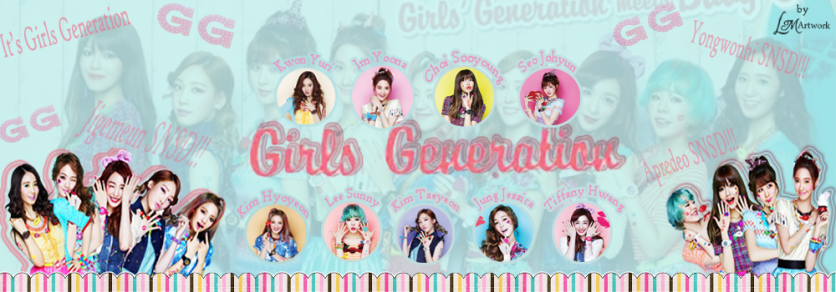Header SNSD By Lee Midah