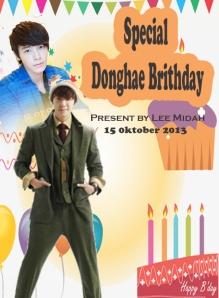 spesial Donghae brithday